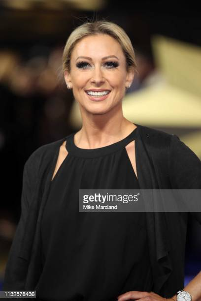 Faye Tozer attends the Captain Marvel European Gala held at The Curzon Mayfair on February 27 2019 in London England