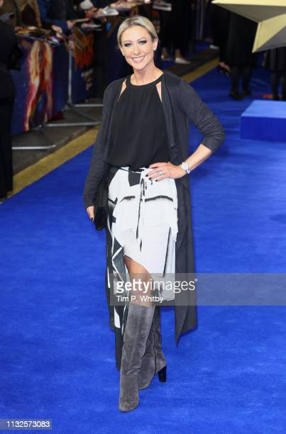Faye Tozer attends the Captain Marvel European Gala Premiere held at The Curzon Mayfair on February 27 2019 in London England