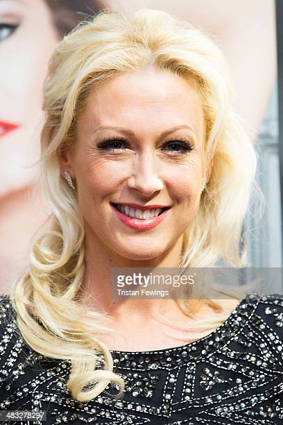 Faye Tozer attends the VIP preview evening for 'Katya Pasha' at Lyric Theatre on April 7 2014 in London England