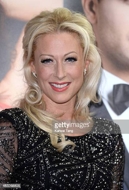 Faye Tozer attends the VIP preview evening for 'Katya Pasha' held at the Lyric Theatre on April 7 2014 in London England