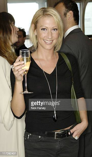 Faye Tozer during David Morris Shop ReOpening Hosted by Jeremy and Erin Morris June 14 2006 at London in London Great Britain