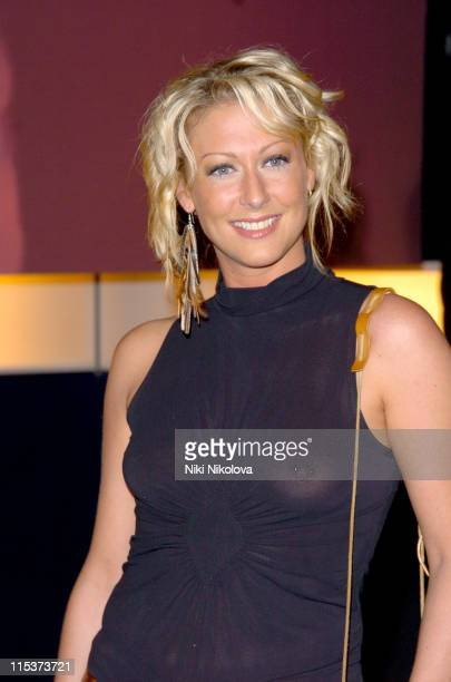Faye Tozer during Hell's Kitchen Day 7 Arrivals at 146 Brick Lane in London Great Britain
