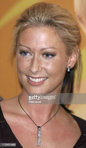 Faye Tozer during Love Shack the Musical Press Launch and Photocall at No 9 Adam Street in London Great Britain