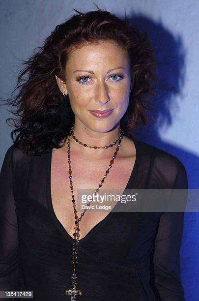 Faye Tozer during Platon's Republic The Exhibition Opening Night at ExSaatchi Gallery in London Great Britain