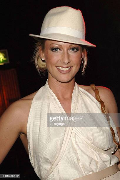 Faye Tozer during Saucy Jack and the Space Vixens Party December 6 2005 at The Venue in London Great Britain