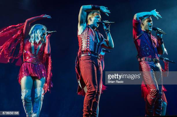 Faye Tozer Ian 'H' Watkins and Lee LatchfordEvans of Steps perform at The O2 Arena on November 24 2017 in London England