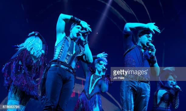 ONLY Faye Tozer Ian 'H' Watkins Claire Richards Lee LatchfordEvans and Lisa ScottLee of Steps perform at The O2 Arena on November 24 2017 in London...
