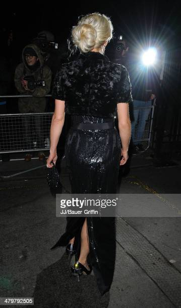Faye Tozer is seen attend the Viva Forever after party on December 12 2012 in London United Kingdom