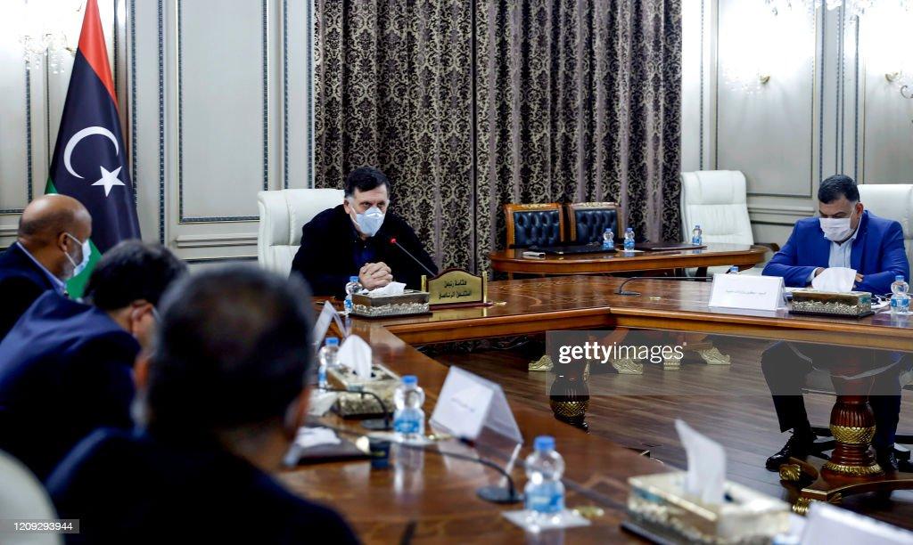 LIBYA-HEALTH-VIRUS-POLITICS-GOVERNMENT : News Photo