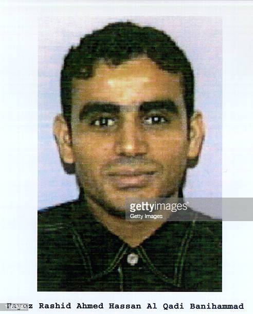 Fayez Rashid Ahmed Hassan Al Qadi Banihammad, one of the suspected hijackers of United Airlines that crashed into World Trade Center in New York on...