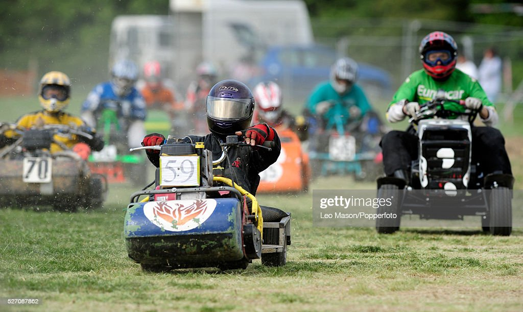 lidl sverige kart UK Sports   Fayre Country Fair Lawnmower Racing Pictures | Getty  lidl sverige kart