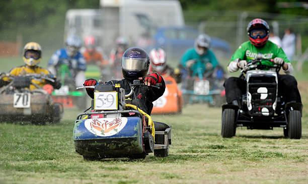 lidl sverige kart UK Sports   Fayre Country Fair Lawnmower Racing Pictures | Getty  lidl sverige kart