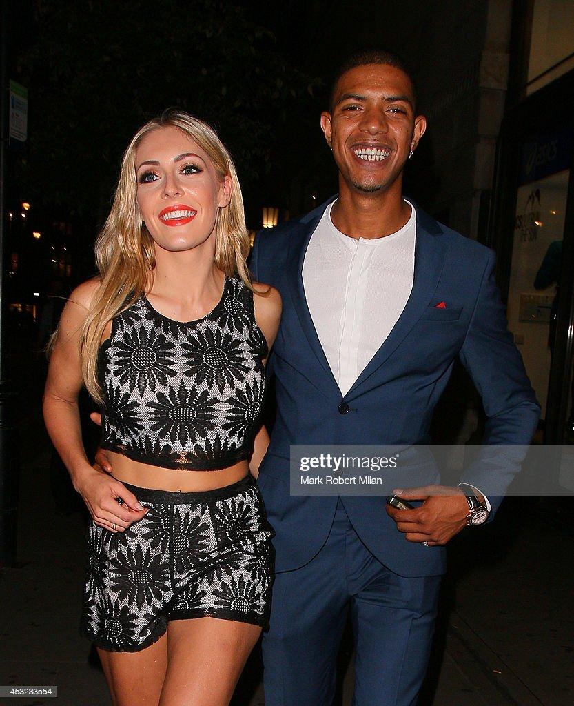 London Celebrity Sightings - August 5, 2014 : News Photo