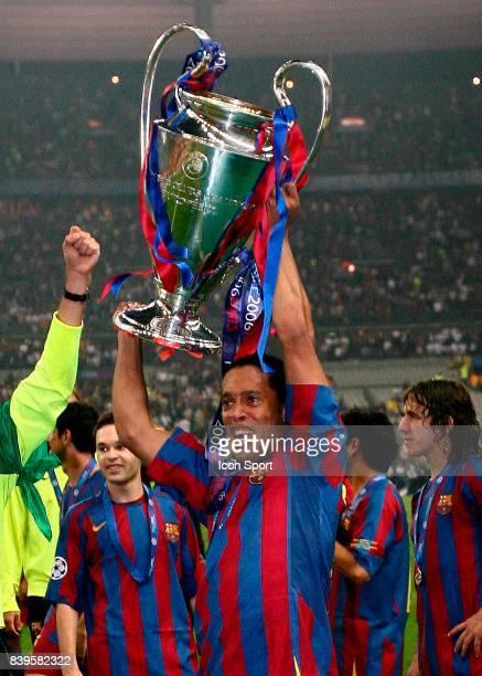 RONALDINHO Fc Barcelone / Arsenal Finale de la Ligue des Champions Stade de France Paris