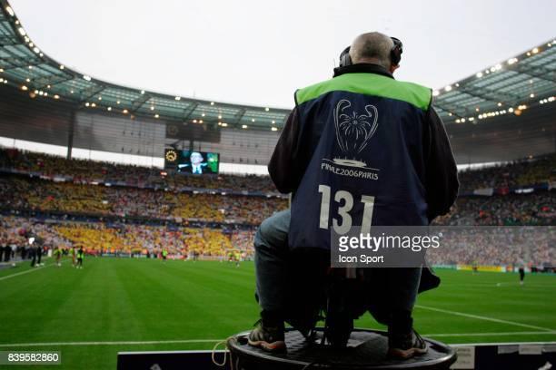 CAMERA Fc Barcelone / Arsenal Finale de la Ligue des Champions Stade de France Paris