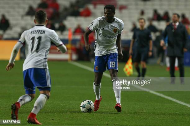 Fc Basel forward Dimitri Oberlin from Switzerland during the match between SL Benfica v FC Basel UEFA Champions League playoff match at Luz Stadium...