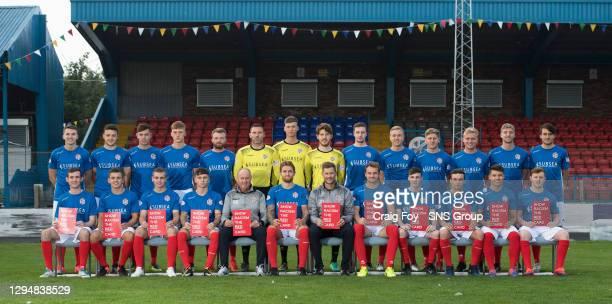 Back Row Sarah Watson, John-James Henderson, Harvey Swann, Jordan Leslie, Cameron Muirhead, Hamish Thomson, Jack Whittaker, David Syme, David McGurn,...
