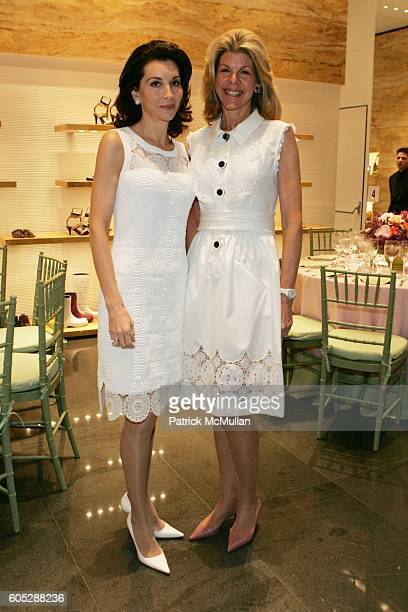 Fe Fendi and Jamee Gregory attend A Luncheon Hosted by Fendi and Jamee Gregory to Benefit the 5th Anniversary of Project Read of the Boys Club of New...