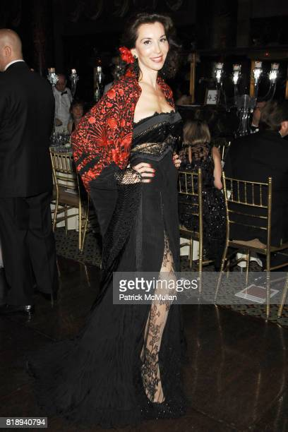 Fe Fendi attend EL MUSEO'S 2010 Annual Gala at Cipriani 42nd Street on May 27th 2010 in New York City