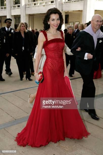 Fe Fendi attends American Ballet Theatre Annual Spring Gala Arrivals at The Metropolitan Opera House on May 18 2009 in New York City