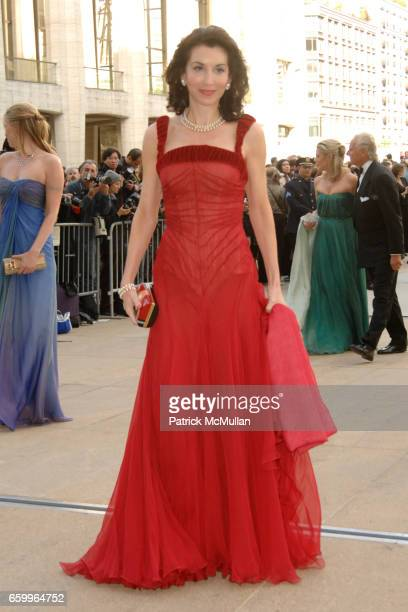 Fe Fendi attends AMERICAN BALLET THEATRE Annual Spring Gala Underwritten by CAROLINA HERRERA Ltd and Graff at Metropolitan Opera House on May 18 2009...