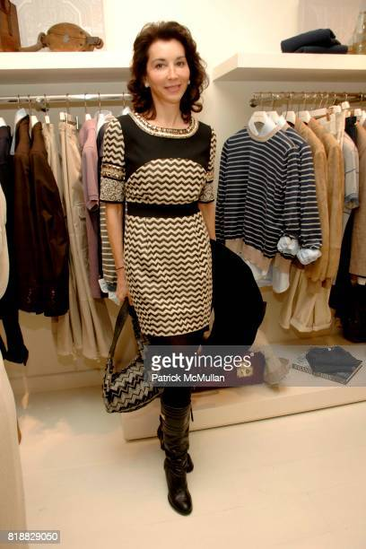 Fe Fendi attends BRUNELLO CUCINELLI Celebrates the Opening of the Madison Avenue Boutique in Support of The New Victory Thearter The New Victory...