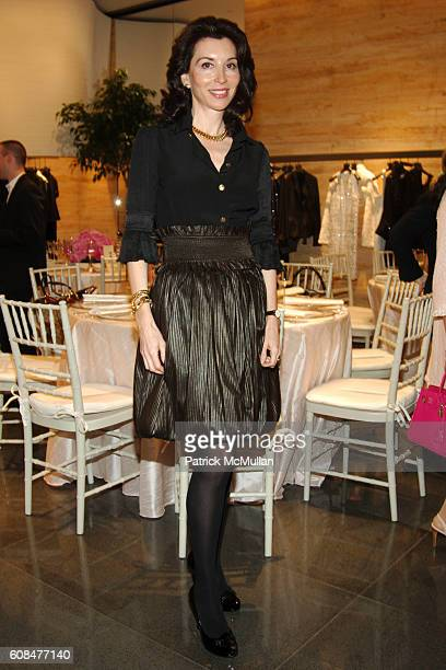 Fe Fendi attends FENDI hosts New York City Ballet Juliet Luncheon at Fendi on March 22 2007 in New York City