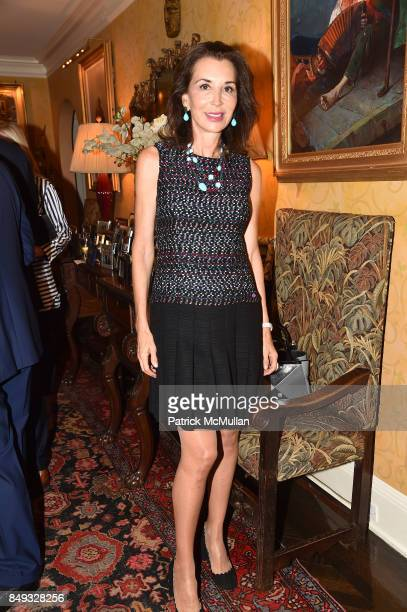 Fe Fendi attends Jackie Weld Drake hosts Casita Maria's Fiesta 2017 Cocktail Party at Private Residence on September 18 2017 in New York City