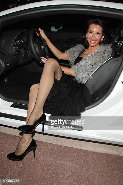 Fe Fendi attends LAMBORGHINI hosts The East Side Settlement Gala Preview of The 2008 New York International Auto Show at Jacob Javits Center NYC on...