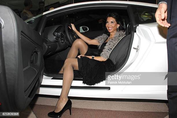 Fe Fendi attends LAMBORGHINI hosts The East Side Settlement Gala Preview of The 2008 New York International Auto Show at Jacob Javits Center on March...