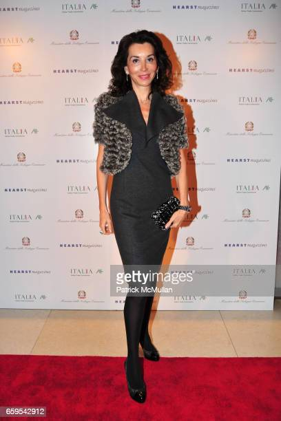 Fe Fendi attends MADE IN ITALY A Celebration of Italian Fashion and Style Hosted by CATHIE BLACK of HEARST Magazine and DR ANIELLO MUSELLA of The...