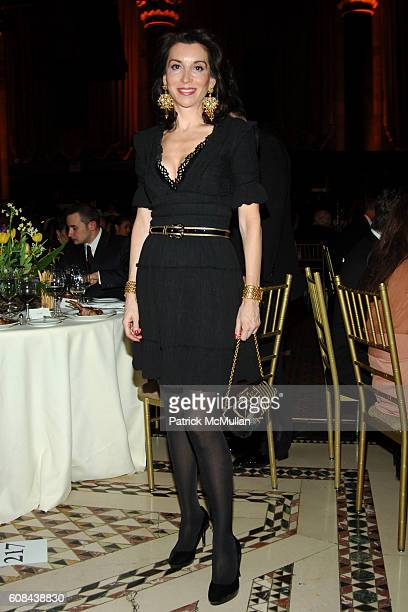 Fe Fendi attends PAUL TAYLOR Dance Company 2007 New York Season Gala at Cipriani 42nd on March 6 2007 in New York City