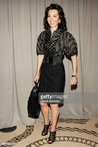 Fe Fendi attends The Couture Council Award for Artistry of Fashion Honoring DRIES VAN NOTEN at Cipriani 42nd Street on September 9 2009 in New York...