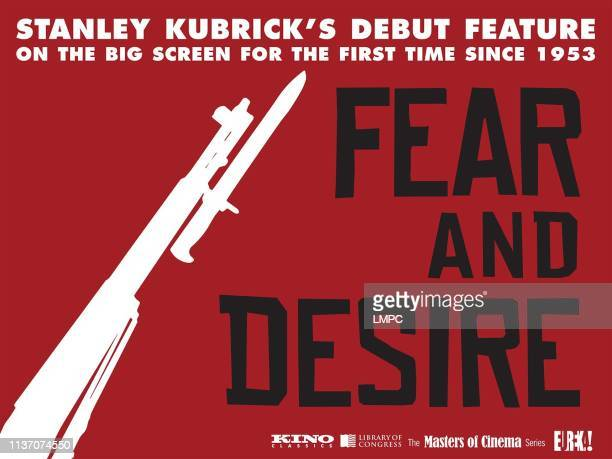 Fear And Desire poster British rerelease poster art from left Virginia Leith Paul Mazursky 1953