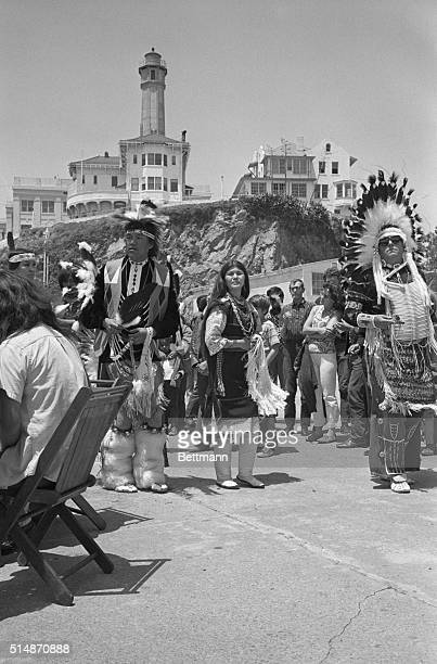 Fear Forgets leads other Sioux in 'Liberation Day' ceremonies on Alcatraz Island The Native Americans are occupying the island claiming the...