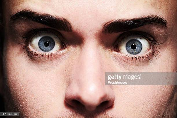 fear in his eyes - fear stock pictures, royalty-free photos & images