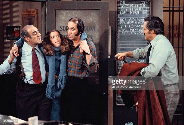 MILLER 'Fear of Flying' Season Two 1/29/76 Gloria Clooney looked for her extradited bigamist husband at the precinct Abe Vigoda Gregory Sierra and...