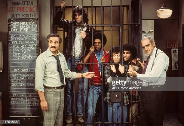 MILLER Fear of Flying with Cast of Welcome Back Kotter Airdate January 29 1976 HAL