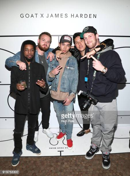 Fear of God representatives attends GOAT and James Harden Celebrate NBA AllStar Weekend 2018 at Poppy on February 17 2018 in Los Angeles California