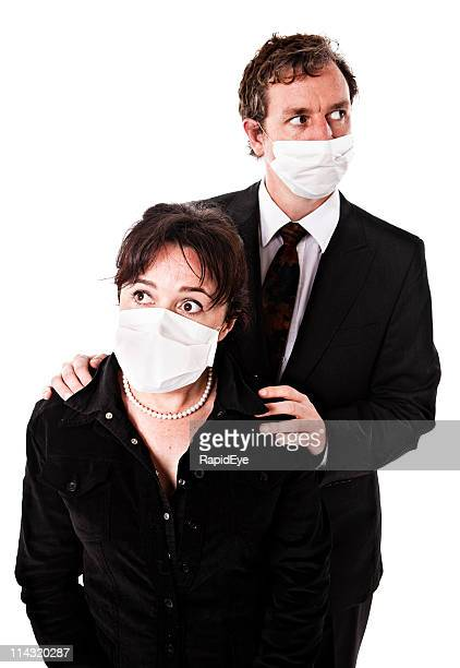 fear of  the spread of deadly viruses - hypochondria stock photos and pictures