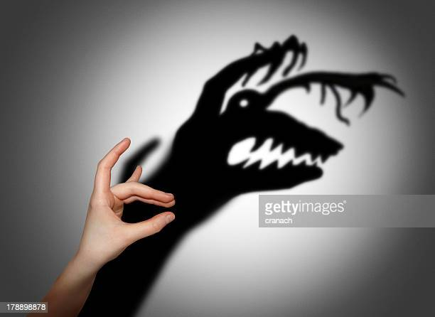 'Fear, fright, shadow on the wall'