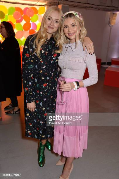 Fearne Cotton and Georgia Toffolo attend the Cath Kidston party celebrating the launch of their new collection in collaboration with TV and radio...