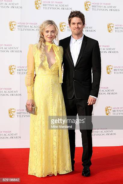 Fearne Cotton and Jesse Wood arrive for the House Of Fraser British Academy Television Awards 2016 at the Royal Festival Hall on May 8 2016 in London...