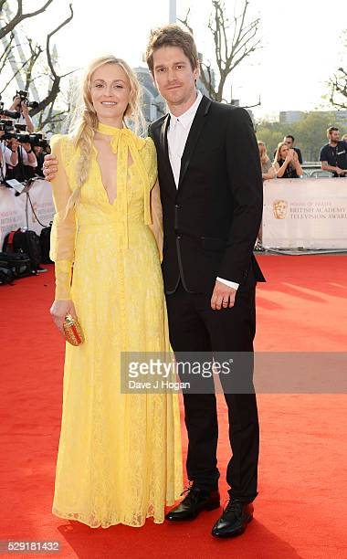 Fearne Cotton and Jesse Wood attend the House Of Fraser British Academy Television Awards 2016 at the Royal Festival Hall on May 8 2016 in London...