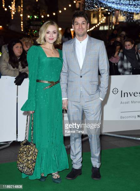 Fearne Cotton and Jesse Wood attend the Tusk Conservation Awards at The Empire Cinema on November 21 2019 in London England