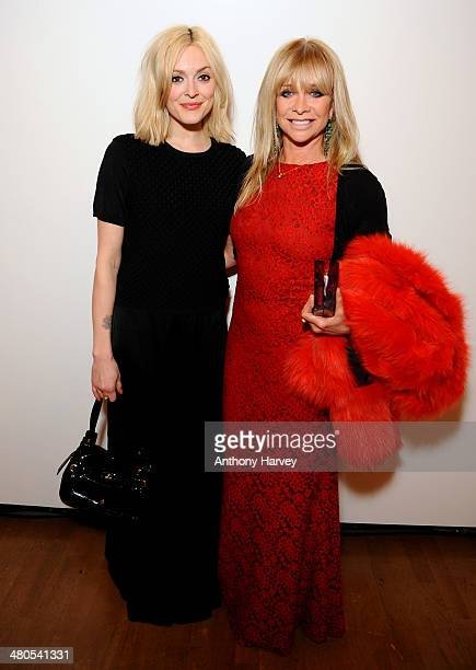 Fearne Cotton and Jo Wood attend the Annual Schools auction dinner at Burlington House on March 25 2014 in London England