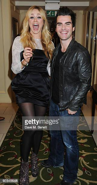 Fearne Cotton and Kelly Jones attend The Q Awards at the Grosvenor House on October 26 2009 in London England