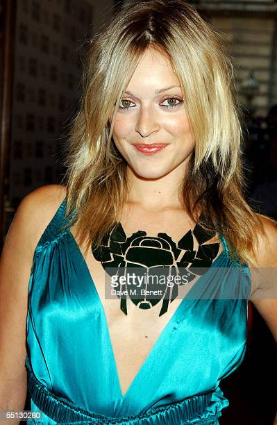 Fearne Cotton arrives at the GQ Men Of The Year Awards at the Royal Opera House on September 6 2005 in London England The mens magazine's annual...