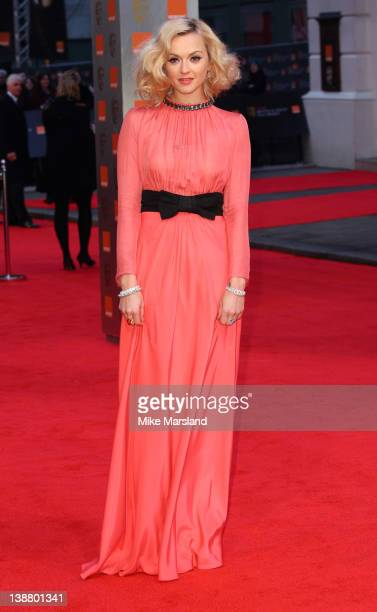 Fearne Cotton arrives at the Orange British Academy Film Awards at The Royal Opera House on February 12 2012 in London England