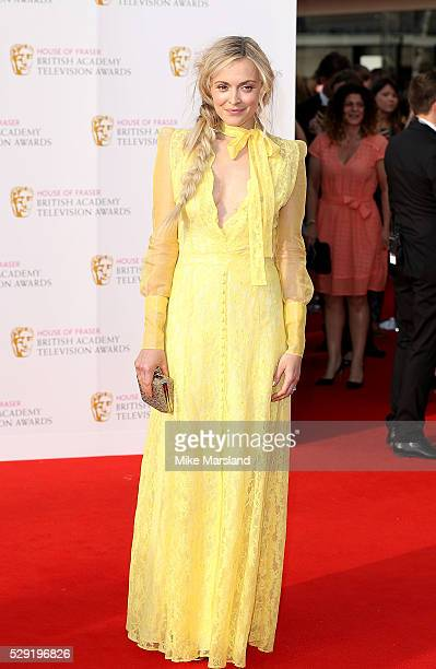 Fearne Cotton arrives for the House Of Fraser British Academy Television Awards 2016 at the Royal Festival Hall on May 8 2016 in London England